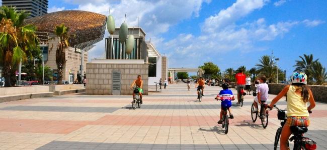 Barcellona in bici