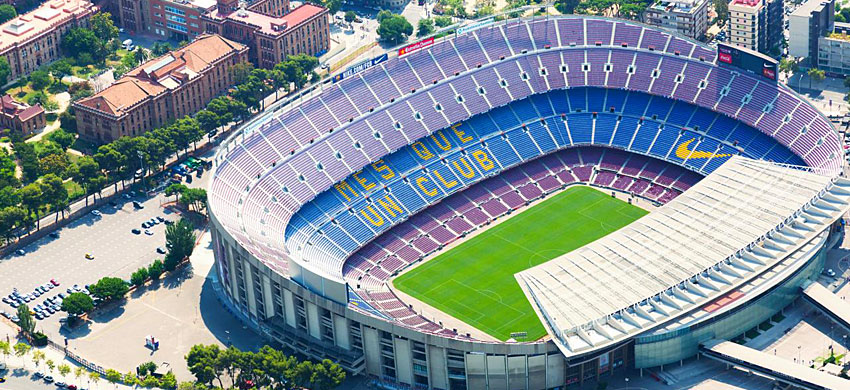 Camp Nou, lo stadio del Barcellona