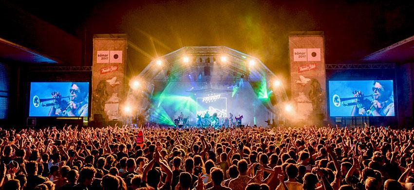 Festival Sonar a Barcellona